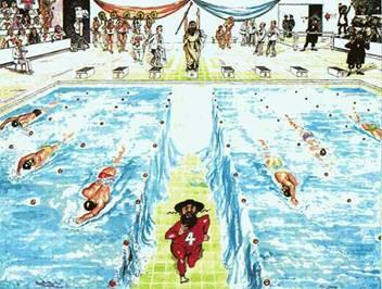 Jewish Olympic Swimmer