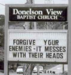 Church can be hilarious!