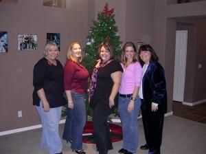 Leslie, Avily, Kathleen, Lynn, and Pam