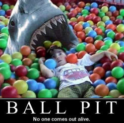 Friday Funny Shark Ball Pit