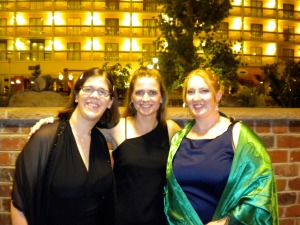 Krista, me, and Avily.