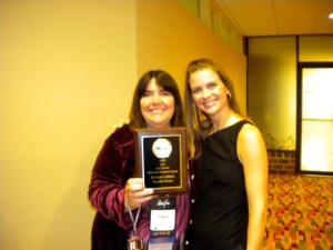 Pamela won Book of the year:  Short Contemporary Suspense- Broken Lullaby by Pamela Tracy